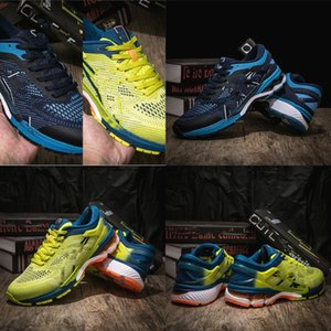 Hot Shoes 2020 Walking GEL-Kayano 360 5 Youth Mens New Running GEL Cushioning Shoes White Green Students Sneakers1988