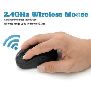 USB Wireless Mouse Gaming Mouse 2000DPI Adjustable Receiver Optical Computer 2.4GHz Ergonomic Mice For Laptop PC