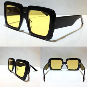 0783 Novos óculos de sol populares Mulheres 0783S Big Quadrado Quadro Óculos de Óculos de Óculos Mistos Moldura Quadro de Cor Superior UV 400 Eam Capa de Alta Qualidade