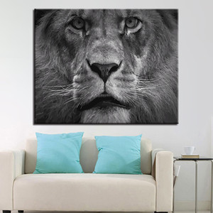 Lion Head Animals DIY Painting By Number Modern Acrylic Paint On Canvas Painting Unique Gift For Home Decor
