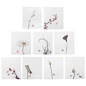 45Pcs Christmas Gifts Oriental Style Greeting Cards Christmas Cards Festival Paper Blessing for Friends Party