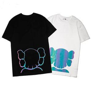 2021 Yeni Yaz Lüks Avrupa Mens T Gömlek En Kaliteli T Shirt Moda Yüksek Kalite Tasarımcı T Gömlek Kadın Sokak Rahat Tee