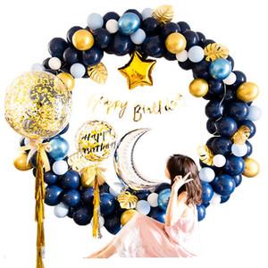 Globo fondo pared adulto cumpleaños fiesta decoración personalizado globos con pareja sorpresa escena de tiro