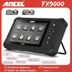Ancel FX9000 OBD2 A CAR Diagnostic Tool Инструмент Полный системный Автомобильный Сканер Коды Считытеля SAS Масляный Сброс Сканер по воздушной сумке Инструменты сканера OBD2