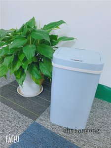 Free Shipping Sitting Room Smart Trash Can Baby Diaper Pail Isolate Smelly High Quality Kitchen Baby Room Bin Blue Waste Container