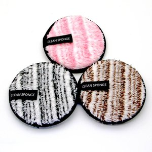 Top Quality Reusable Cotton Pads Makeup Remover Puff Wipes Microfiber Make Up Removal Sponge Cotton Cleaning Remover Tool Free Shipping