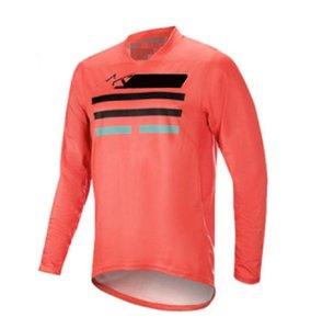 2020 Nuovo prodotto Asciugatura rapida Traspirante traspirante Trasparente Motorcycle Racing Abbigliamento Top Attrezzature da competizione T-shirt da uomo Polyester Quick-D