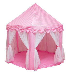 Portable Foldable Princess Castle Play Tent Children Fairy House Funny Indoor Outdoor Playhouse Beach Toys XR-Hot Z1123