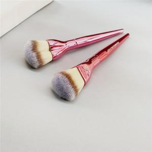 Mini Love is the Foundation Makeup Brush Pink Heart Shaped Soft Liquid Cream Powder Foundation Airbrush Cosmetics Beauty Tool