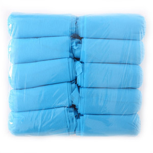 100pcs lot Disposable Shoe Cover Dustproof Non-slip Boot Cover Non-woven Shoe Cover Household Shoe Covers 11 O2