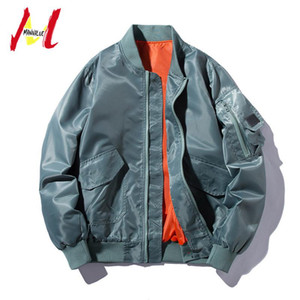 MANVALUE Men's Spring and Autumn New Style Students Tide Loose Suits Male Easy Match Thin Coats Hip-hop Jackets