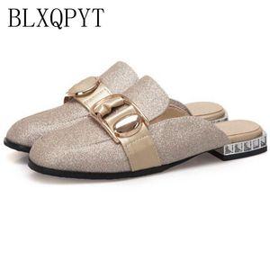 Blxqpyt Gladiator Sandales Femmes Grande taille 32-50 Summer Style Femme Chaussures Fantaisie Casual Beach Sandales High Hells Pantoufles T517