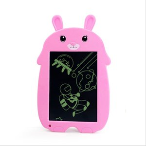 Children's 8.5Inch cartoon writing LCD painting erasable graffiti puzzle toy creative cute drawing board