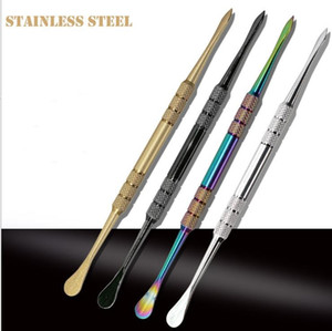 Stainless Steel Dabber Tool Wax Carvers Tools and Dabber Carving Tool for Bho Butane Oil Concentrate and Slick Oil Herb Hash
