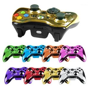 Беспроводной контроллер корпуса корпуса аксессуары наборы комплектов для Xbox 360 беспроводной контроллер корпуса корпуса бампера бампера пальцев кнопок игры1
