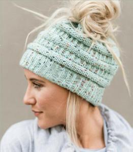 Women Warm Knitted Hat Corkscrew Knit Beanie Soft Feel Braided Crochet Winter Hats Casual Outdoor Skiing Cap