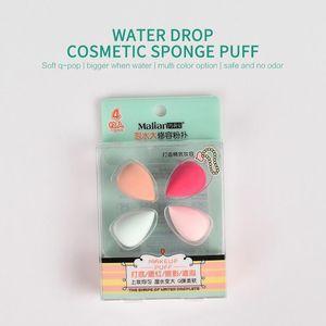 4PCS Sponge Marianne Repairing Powder Puff Mini Water Drop Makeup Sponge BB Makeup Cosmetic Puff Tools & Accessories