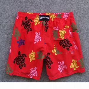 Brand Brand Shorts Men Bermuda Vilebre Turtle Pepense Peparting Man Boardshort 100% быстрые сухие мужские купальники FZW1808