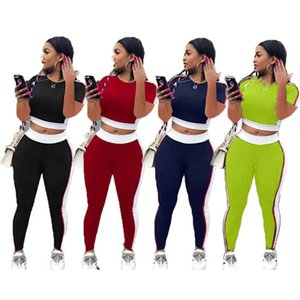 Designer Womens tracksuits casual women outfits 2 piece set fashion sportswear jogging sport suit sweatshirt tights sport suit klw0369