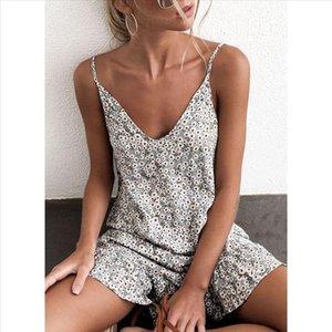 Womens Printing Off Shoulder short Sleeve Mini Dress Princess Mini Dress Floral Suits Sexy Bohemian Floral Tunic Beach