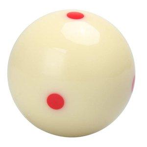 Бильярдный шар Стандартный 57.2 мм Cue Ball 6 Dot - Spot Billiard Практика Обучение Cue Внутреннее Развлекательное оборудование