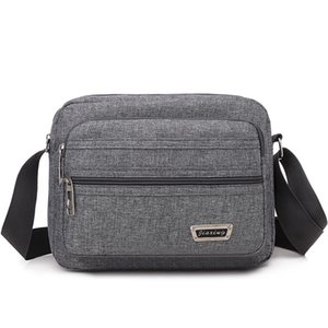 Men Shoulder Bags Messenger Bags Casual Handbag Top-handle Multifunction Small Travel Nylon Fashion Crossbody Bags