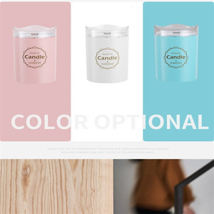 Compact Humidifier Fragrance 300ML Candle Essential New Oils Diffusers Purify Woman Man Aromatherapy Lovely Bedroom Supplies 18js K2