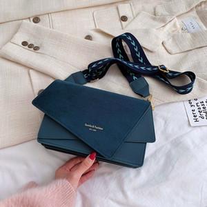 Borse opache inverno moda crossbody borse donna borse donna designer di lusso alla moda borsa a tracolla lettere popolare quadrato vintage Q1215