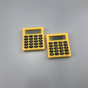 New Student Mini Electronic Calculator Personalized Mini Candy Calculation Office Supplies Gift Coin Battery Hot Sale