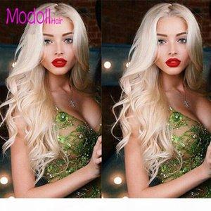 Onda corporal 613 paquetes con paquetes de tejido de pelo virgen brasileño frontal barato DHgate Virgin Human Hair Bundles Bundles con cierre