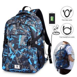 2020 Sport Men Backpack Men's School Bag for Boys Soccer Ball Pack USB Laptop Bag Net Gym Bags Male