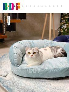 Beethoven Pet Sofa Inverno Quente Gato Ninho Four Seasons Universal Kennel Mat Cat Sofa Mat Material