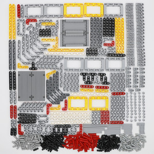 Bricks Technic Parts Sets Liftarm Studless Beam Cross Axles Connector Panel Car Truck Bulk Building blocks Toys for kids 548PCS Q1126