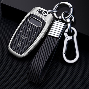 Suitable for 2019 Audi key cover Audi A8L 19 new A6L A7 Q8 car key bag buckle