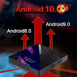 H96 Mini V8 Smart Android 10.0 TV Box 2GB 16GB Quad Core 4k 2.4G Wifi Media player Set Top 4k