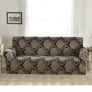 53 Stretch Sofa Cover Living Room Armchair Corner Sofa Elastic Slipcovers L Shaped Cover European Floral Pattern