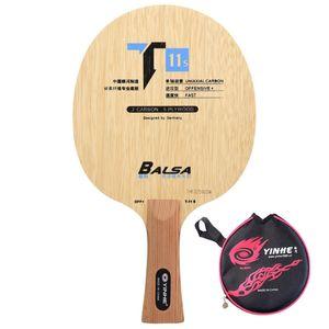 Yinhe T11 T-11 + T11 + Fast Break Loop Carbon Limba Balsa Off Table Tennis Blade ل Racket 201116