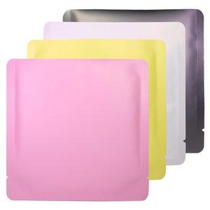 15x15 cm Differet Color Bianco / Giallo / Rosa / Nero Sigillabile Sigillabile Sigillabile Pianta piatta Busta piatta Aprire la cima del pacchetto Borsa per il vuoto BWC4135