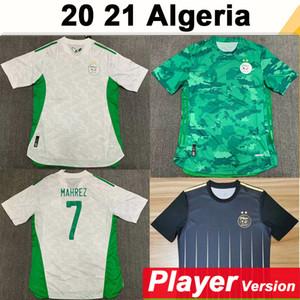 20 21 Algélia National Team Mahrez Feghouli Version Version Mens Soccer Jerseys Slimani Bennacer Atal Casa Away Camisa de Futebol Manga Curta