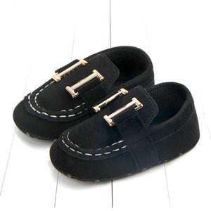 Fashion Nouveaux Chaussures de bébé Premier Walker Newnborn Garçons filles Chaussures de berceau Premiers Walkers Neworn 0-1 ans Baskers Baby Boys