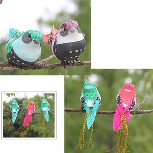 Artificial Foam Feather Simulation Bird DIY Party Crafts Magnet Decorative Doves Artificial Foam Feather Random Color