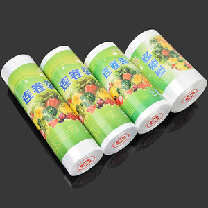 Household plastic bag small food packaging bag large supermarket even roll shopping hand tear bag thickened economy packaging household word