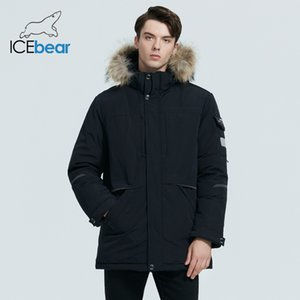 ICEbear men's winter jacket thick and warm men's cotton coat fashion male clothing hooded Parkas MWD19805I 201118