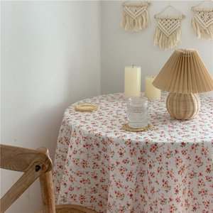 Japanese Style Fashion Rose Tablecloth Picnic Cloth Sofa Cover Home Decor Photography Backdrops
