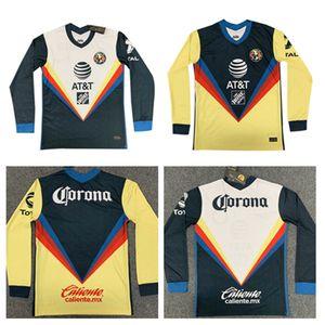 Длинный рукав 20 21 Мексика Америка Клуб G.rodriguez O.Peralta Футбольный костюм 2020 2021 R.martinez P.aguill мужской футбольный костюм