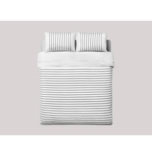 Brand100%Cotton Modern Brief Striped comfotable bedding set bedclothes 4pcs duvet quilt cover bed sheet bed cover pillow cases