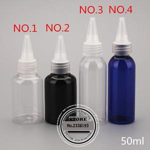 50ml X 50 statuesque bottle ,emulsion ,seasoning solvent pet clear dropper bottle,Empty E liquid container