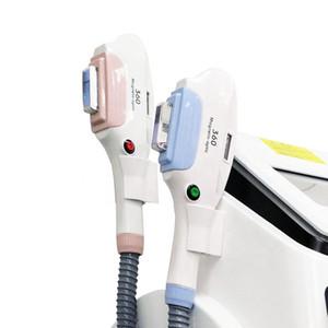 4IN1 OPT E- LIGHT IPL RF (refrigeración + calor) Depilación láser YAG Láser para tratamientos múltiples
