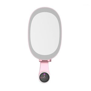 Selfie Ring Light Fill Light ضبط LED مع Mobile Macro Lens Makeup Mirror ل iPad Sumsung Tablet Laptop1