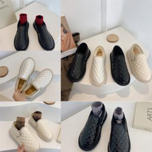 59K1C Women Pillow Flat Down Shoes Withankle Bootshle Qualità Stampa invernale Falts Eiderdown Lace-Up Snow Boot Boots Boots